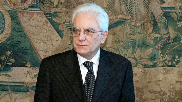 Il Presidente Sergio Mattarella. - Sputnik Italia