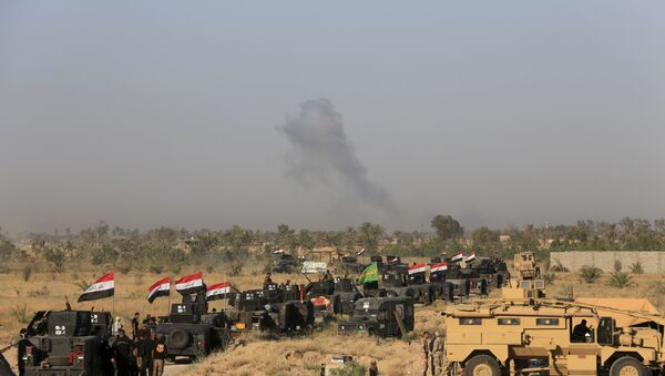 Iraqi military forces prepare for an offensive into Fallujah to retake the city from Islamic State militants in Iraq, Monday, May 30, 2016. - Sputnik Italia