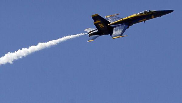 Caccia USA F/A-18 - Sputnik Italia