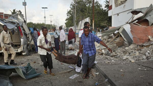 Dopo un'esplosione a Mogadishu - Sputnik Italia