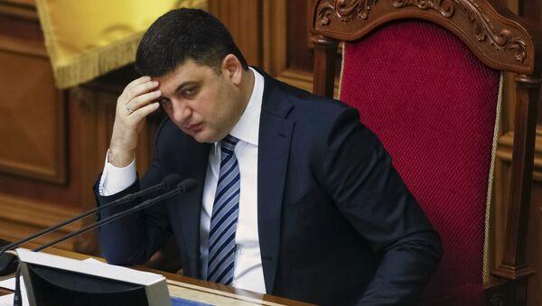 Il primo ministro ucraino Vladimir Groisman - Sputnik Italia