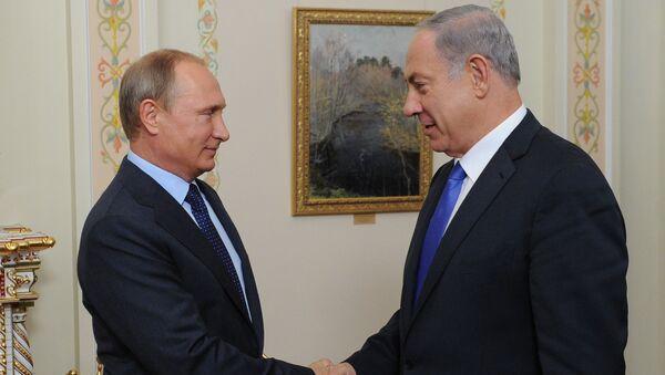 Встреча президента России Владимира Путина с премьер-министром Израиля Биньямином Нетаньяху в резиденции Ново-Огарево - Sputnik Italia