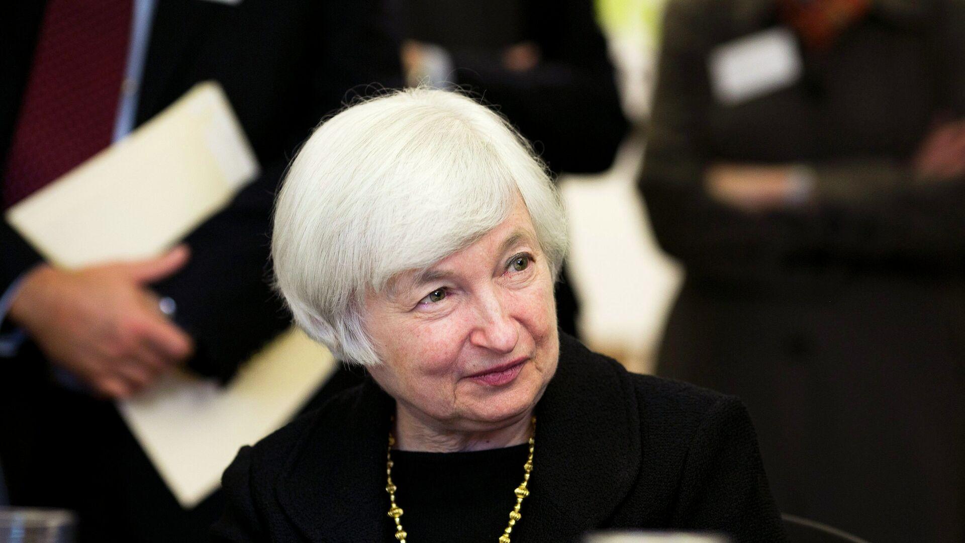 Janet Yellen, capo del Federal Reserve - Sputnik Italia, 1920, 21.09.2021