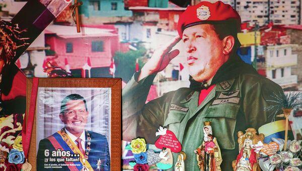Il ritratto di Hugo Chavez - Sputnik Italia