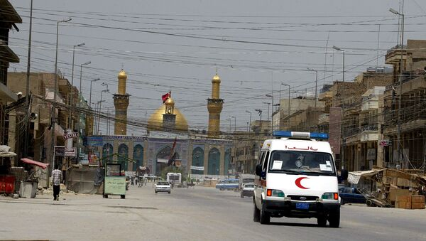 Un'ambulanza a Baghdad - Sputnik Italia