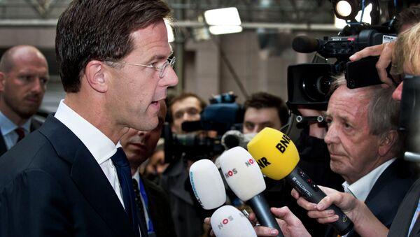 Mark Rutte, premier dei Paesi Bassi - Sputnik Italia