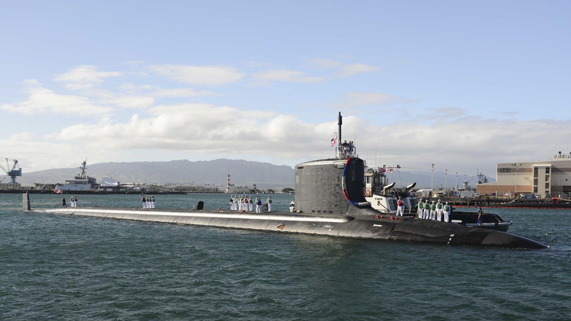 Sottomarino nucleare USA Mississippi - Sputnik Italia, 1920, 21.09.2021