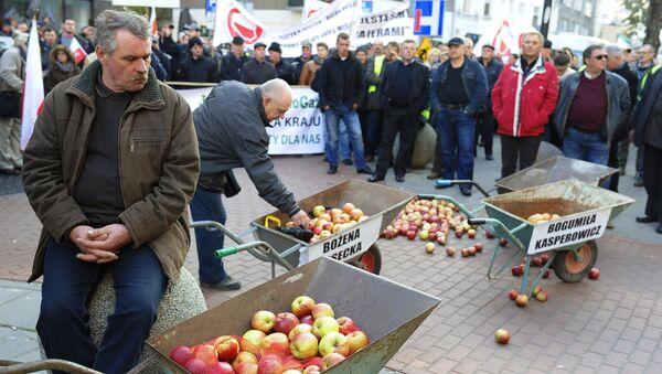 Agricoltori polacchi protestano a Varsavia - Sputnik Italia
