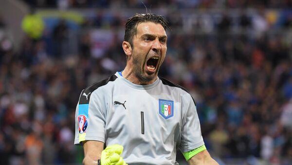 L'esultanza di Gigi Buffon - Sputnik Italia