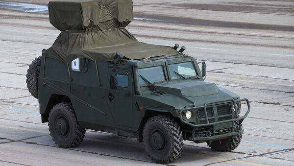 Противотанковый ракетный комплекс Корнет-Д во время репетиции парада Победы в Московской области - Sputnik Italia
