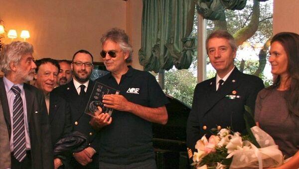 Bocelli insignito del premio Tatiana Pavlova - Sputnik Italia