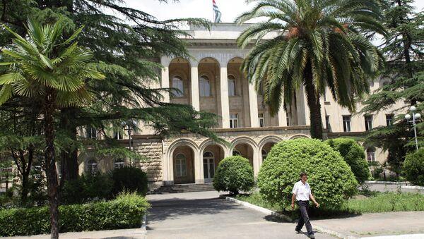 ll palazzo del governo abcaso a Sukhum - Sputnik Italia