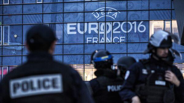 Poliziotti francesi agli Euro 2016 - Sputnik Italia
