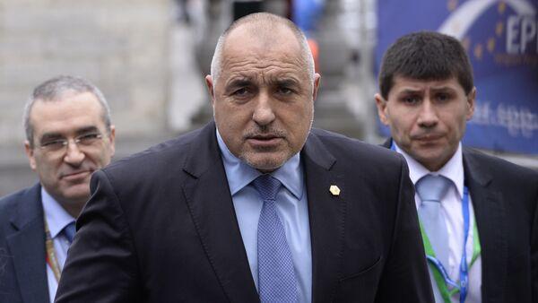 Premier bulgaro Boyko Borisov - Sputnik Italia