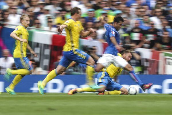 88° minuto, Eder segna il gol vittoria - Sputnik Italia