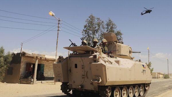 Mezzo blindato dell'esercito egiziano M113 - Sputnik Italia
