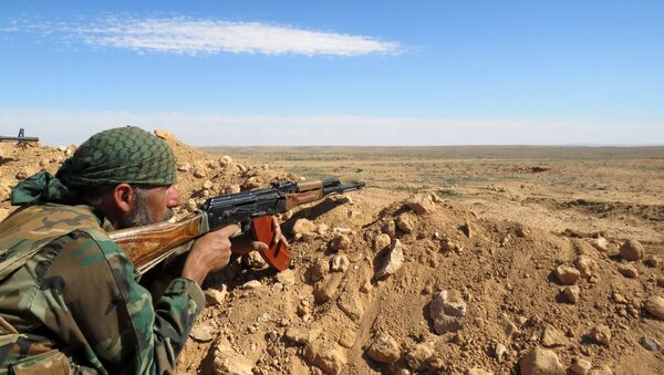 Soldato siriano nella provincia di Raqqa - Sputnik Italia