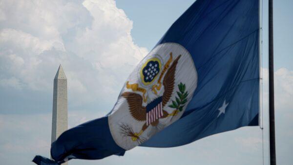 Bandiera del dipartimento di Stato americano - Sputnik Italia
