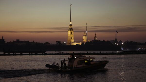 La fortezza dei Santi Pietro e Paolo a San Pietroburgo - Sputnik Italia