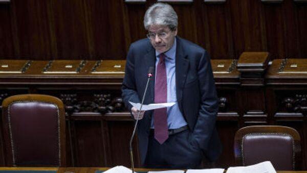 Il Ministro degli Esteri Paolo Gentiloni - Sputnik Italia