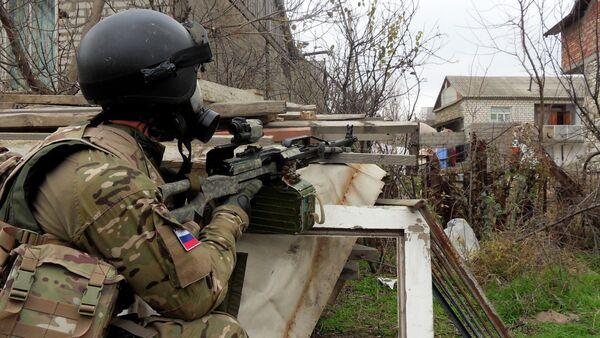 Forze speciali russe antiterrorismo in Daghestan - Sputnik Italia