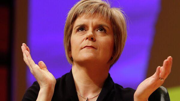 Il primo ministro della Scozia Nicola Sturgeon - Sputnik Italia