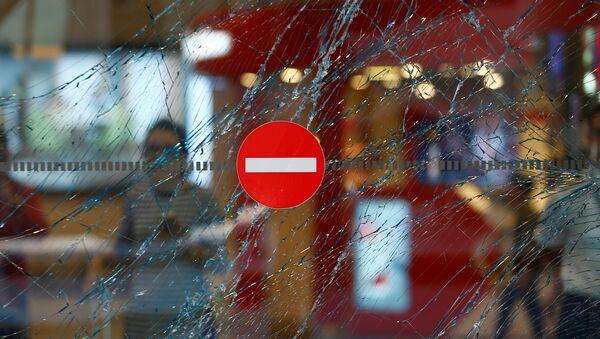 Vetro rotto in un aeroporto - Sputnik Italia