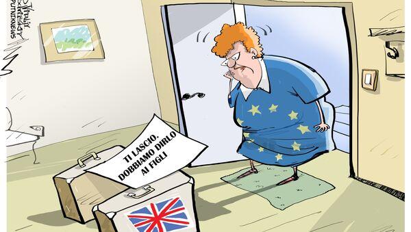 Gran Bretagna lascia l'UE - Sputnik Italia