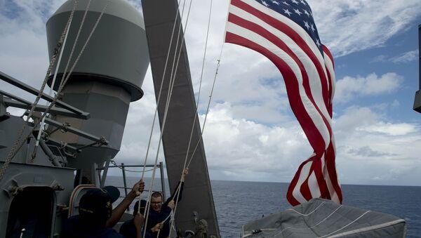 Una nave della Marina USA - Sputnik Italia