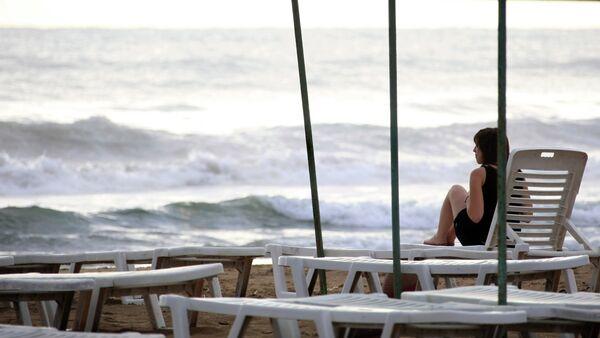 Una spiaggia in Turchia - Sputnik Italia