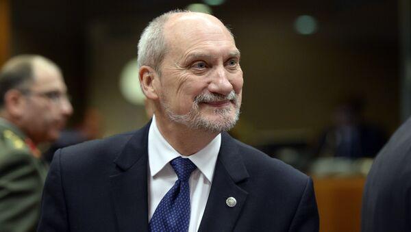 Ministro della Difesa della Polonia Antoni Macierewicz - Sputnik Italia