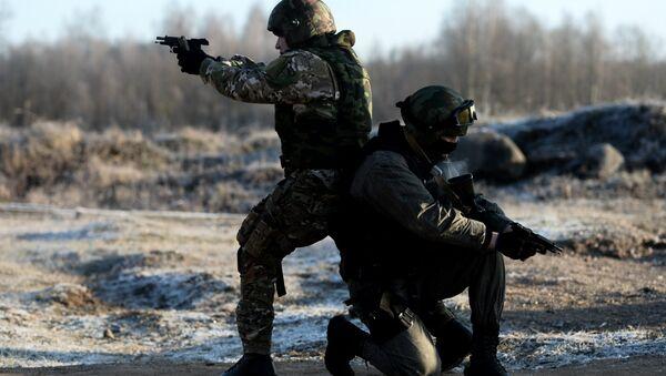 Forze speciali russe in Daghestan - Sputnik Italia