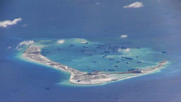 Navi cinesi presso le isole contese nel Mar Cinese Meridionale - Sputnik Italia