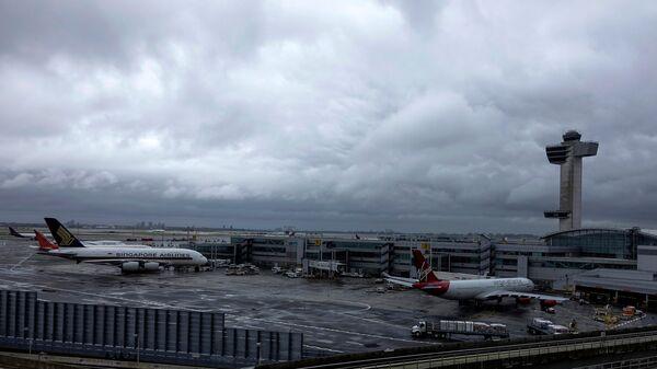 Una vista dell'aeroporto JFK a New York - Sputnik Italia