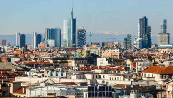 Вид на город Милан - Sputnik Italia