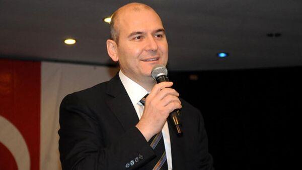 Ministro del lavoro e delle politiche sociali turco Süleyman Soylu - Sputnik Italia