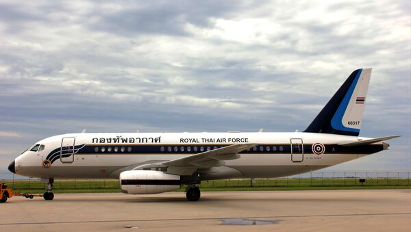 Il Sukhoi Business Jet (SBJ) venduto all'aeronautica militare reale thailandese - Sputnik Italia