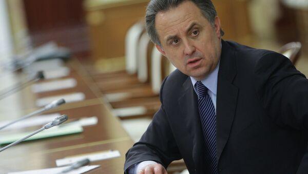 Il ministro dello sport russo Vitaly Mutko - Sputnik Italia