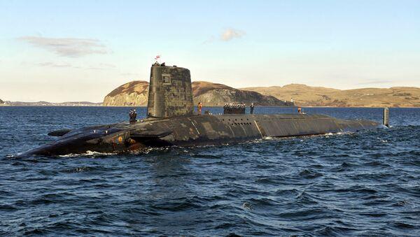 Sottomarino nucleare britannico - Sputnik Italia