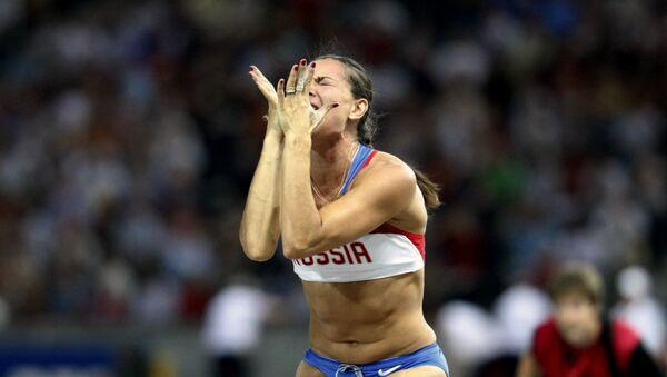 Russia's Yelena Isinbayeva - Sputnik Italia