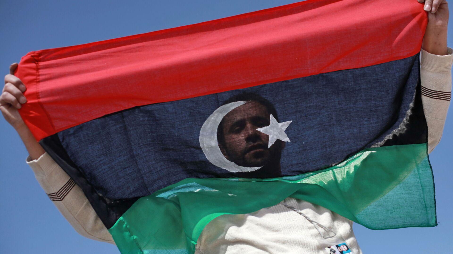 Bandiera Libia - Sputnik Italia, 1920, 15.09.2021