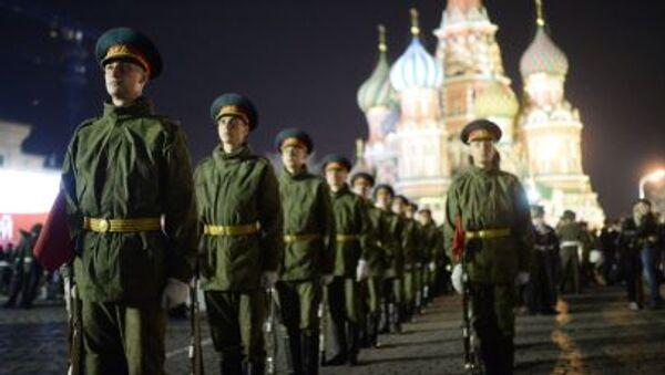 Le prove della Parata del 9 maggio a Mosca. - Sputnik Italia