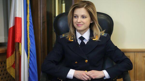 Procuratore della Crimea Natalia Poklonskaya - Sputnik Italia