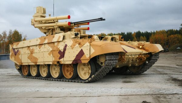 Боевая машина огневой поддержки танков Терминатор - Sputnik Italia