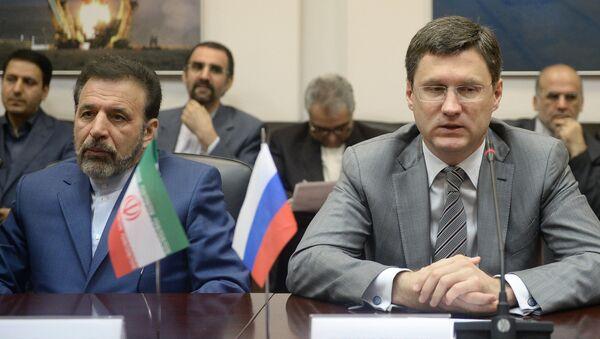 Alexander Novak e Mahmoud Vaezi - Sputnik Italia