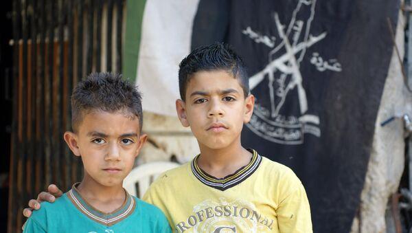 Due bambini siriani - Sputnik Italia