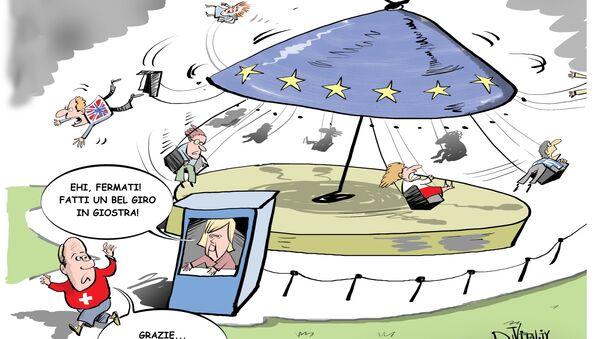 La giostra europea - Sputnik Italia