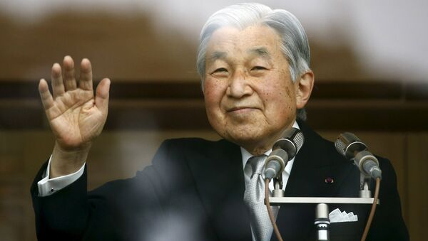 L'imperatore del Giappone Akihito - Sputnik Italia