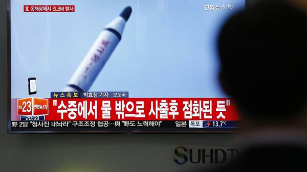 Test missilistico in Corea del Nord - Sputnik Italia