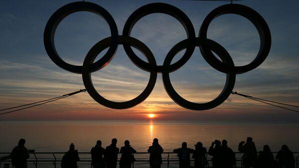 Il logo dei Giochi Olimpici - Sputnik Italia